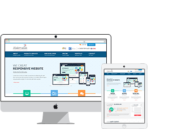 Alakmalak provides Responsive website design service